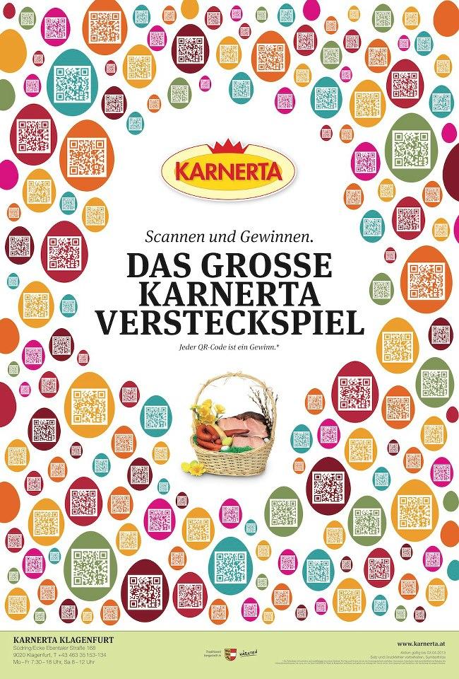 Kufferath Karnerta Ostergewinnspiel Poster